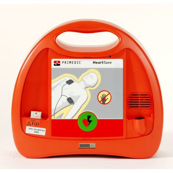 DefibrillatorPrimedicHeartSavePAD