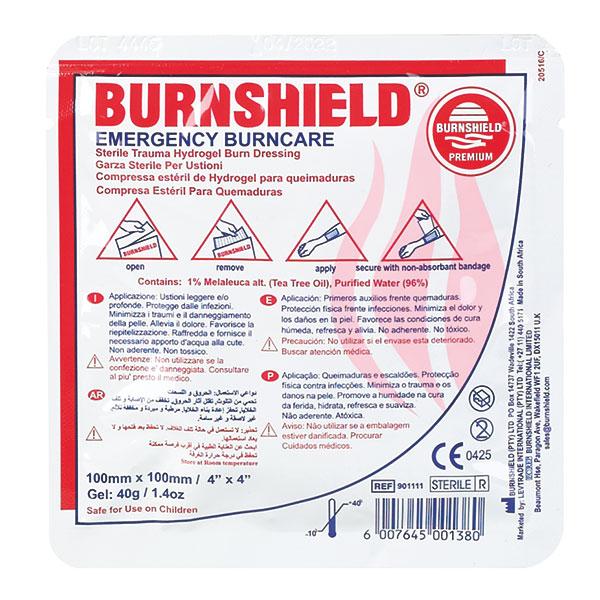 burnshield compres