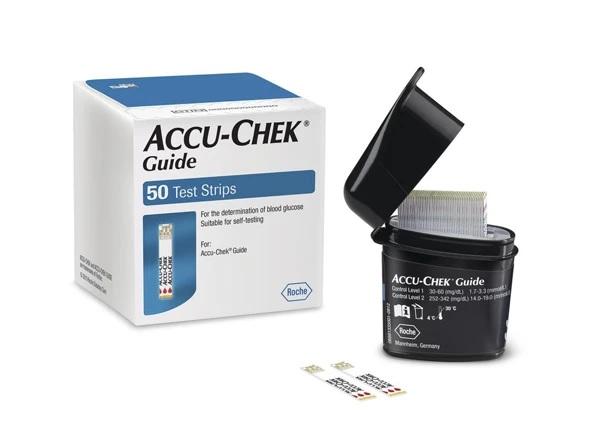 AccuChek guide strips mix